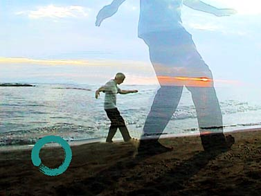 Qi Gong am Meer mit sink-and-relax